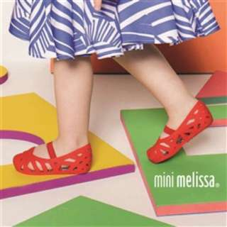 Authentic Mini Melissa x Jason Wu Red Flats