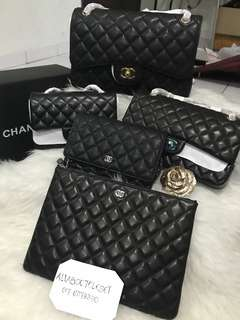Customer's purchased. Chanel Jumbo, medium, o case,mini and woc