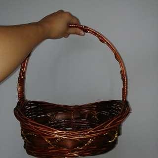 Picnic / easter / display rattan basket