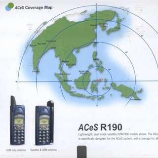 100%全新Ericsson 同廠R190 ACeS 衛星電話
