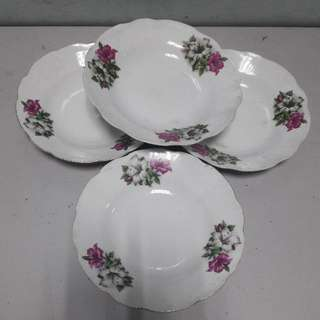 Set Of 4 Large BK Plates