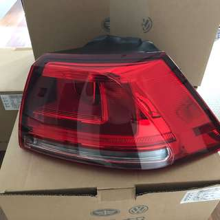 Original VW Golf MK7 Tail lights.