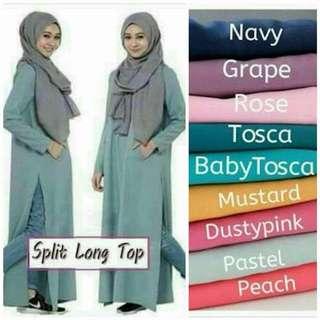 Muslimah Long Tunic - 6XL