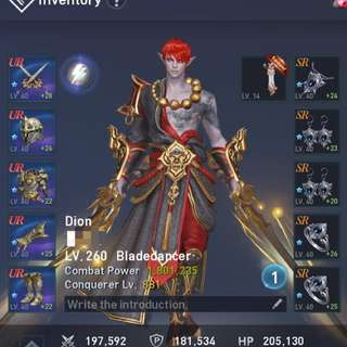 Lineage 2 Dion 1.8m CP BD