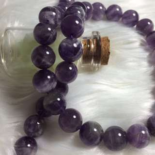 【INSTOCK】紫珠 Purple Beads 39Beads DIY bracelets