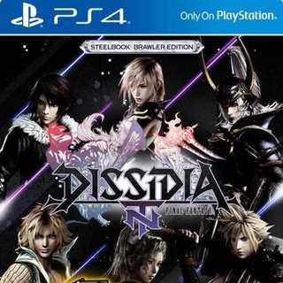 WTS/WTT Dissida Final Fantasy NT
