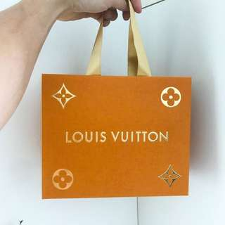 Louis Vuitton Limited Edition paper bag