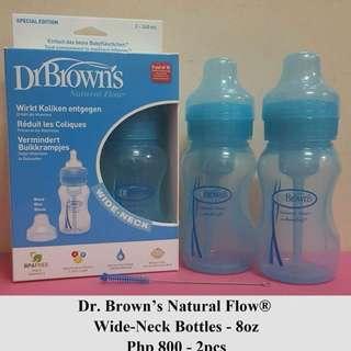 Dr. Brown's Natural Flow Wide-neck 8oz.