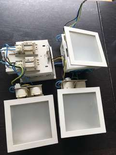 PLC ceiling downlights