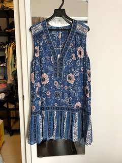 Spell and the gypsy dress, bnwt size m