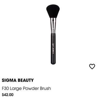 Sigma Powder Brush F30