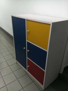 Ikea colourful Cabinet