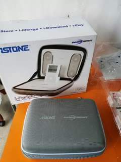 Astone i-Fusion rechargeable iPod Portable Speaker System @ A2/1
