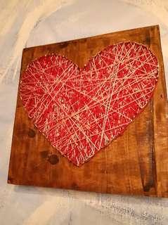 Wooden String Art