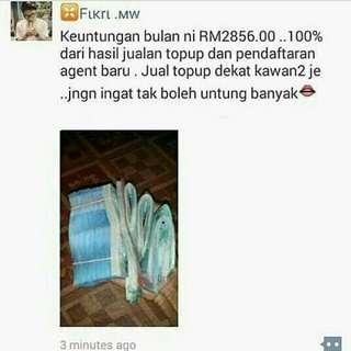 Agent topup