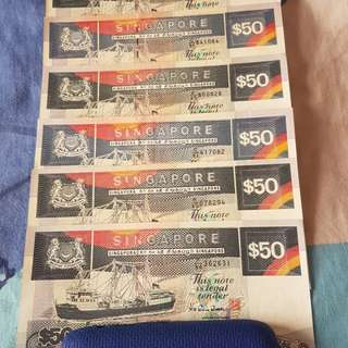 $50 Singapore Notes