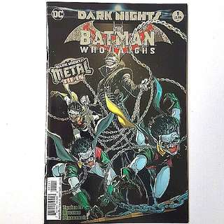 DC Comics Dark Nights Metal One Shot Batman Who Laughs  Near Mint Condition First Print