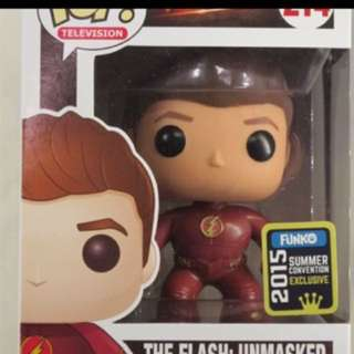 Funko pop flash unmasked