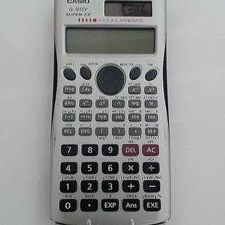 Casio fx-3650p 計數机