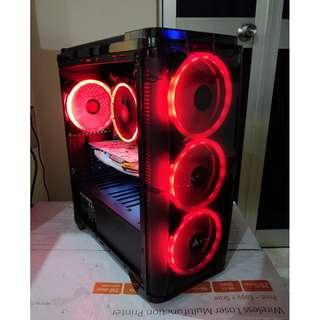 Intel i5 4570 + GTX 1050 Ti 4GB EXOC White - Gaming Desktop PC