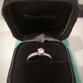Authentic Tiffany & Co. Diamond Ring