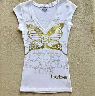 💯% Aunthentic❤️BeBe Top🌟Size -XS                                                                 👉Free Postage