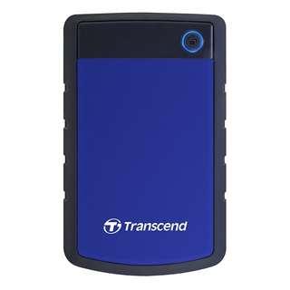 BNIB - Transcend StoreJet 25H3 USB3.0 Portable Hard Drive 2TB Blue