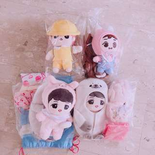 Exo doll arrivals