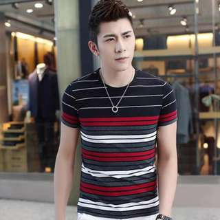 4 Color Stripe Shirt