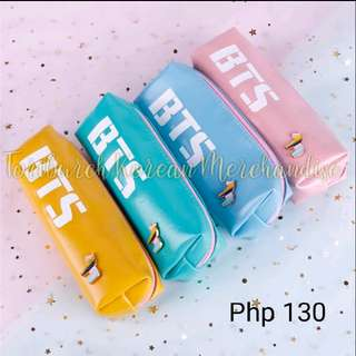 BTS POUCH ORGANIZER PENCIL CASE BANGTAN BOYS