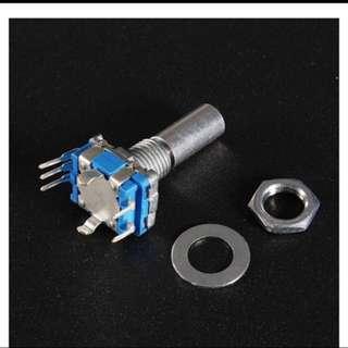 12mm Rotary Encoder Switch with Keyswitch with 2 bit gray scale