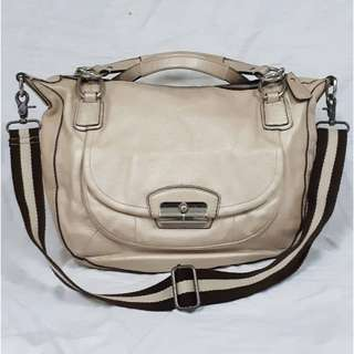AUTHENTIC COACH GENUINE LEATHER BAG