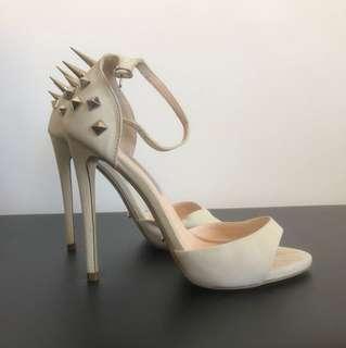 Tony Bianco studded heels Sz 6.5