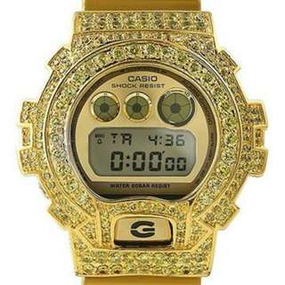 13.5 CTW LIMITED EDITION ALL GOLD CANARY G SHOCK