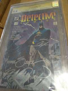 DC Comics Cgc signature Series
