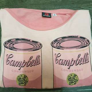 andy warhol campbell tee