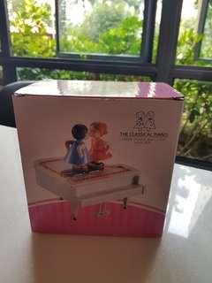 Classic piano music box