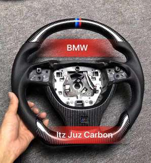 BMW 5 series Carbon steering