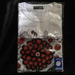 草間彌生 X 嵐 大野智 T-shirt 白 L