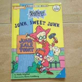 Story Book - Rugrats : Junk, Sweet Junk