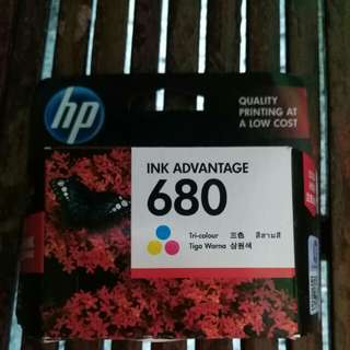 680 original hp ink advance