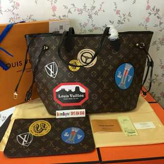 LOUIS VUITTON NEVERFULL WORLD TOUR MM COMPLETE