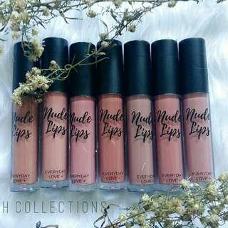 Everyday Love Nude Liquid Lipsticks