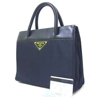 AUTHENTIC PRADA BIG LOGO TOTE BAG