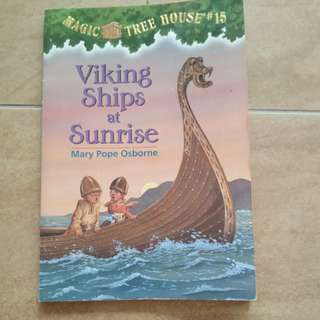 Story book : Magic Tree House - Viking ships at Sunrise