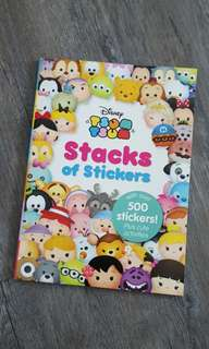 Tsum Tsum Stacks of Stickers Book
