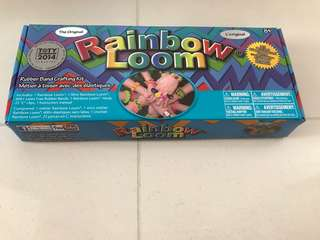 Rainbow Loom rubber band crafting kit