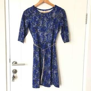 Exit Blue Dress