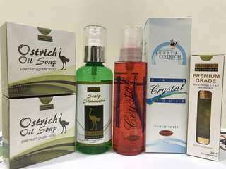 Dr Ostrich Oil - Health and Beauty Gift or Package set