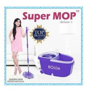 Supermop Deluxe+ Alat Pel Lantai Praktis Digunakan